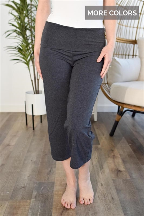 Picture of Casually Comfy Crop Capris
