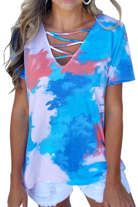 Picture of Sky Blue Cage Top