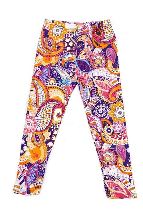 Picture of Colorful Paisley Leggings