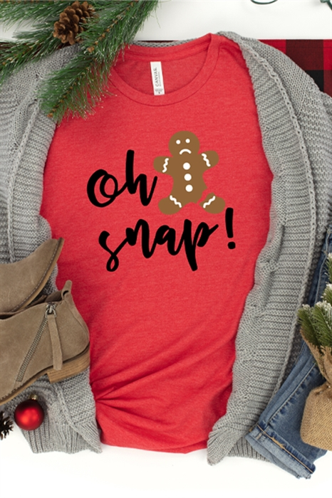 Picture of Oh Snap Graphic Tee