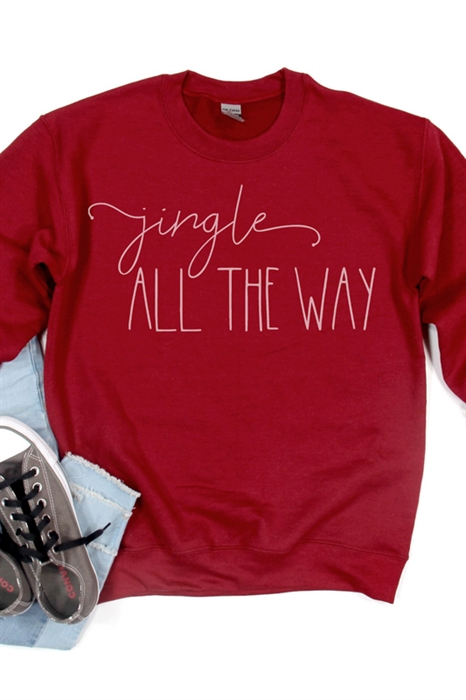 Picture of Jingle All The Way Graphic Sweatshirt