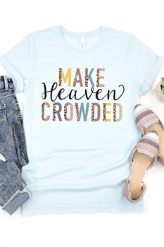 Picture of Make Heaven Crowded Graphic Tee by FBT